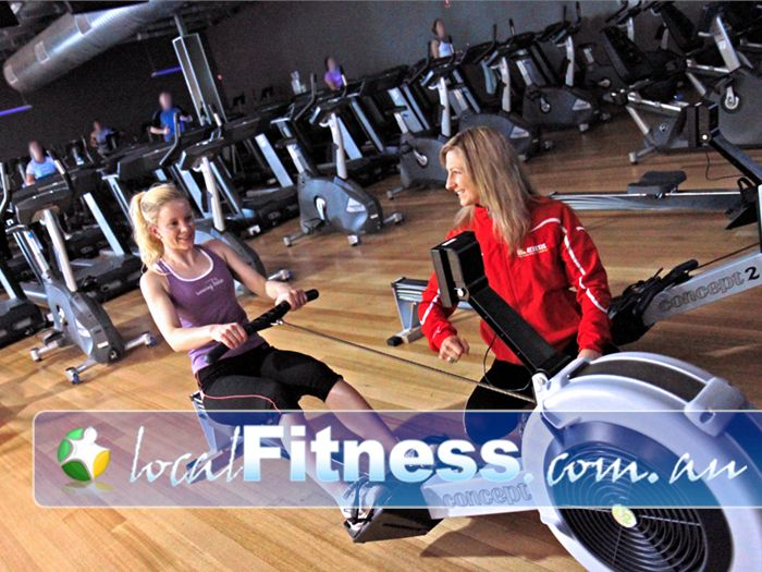 The Gym Near North Brighton Vary your cardio with indoor rowing in Glenelg.