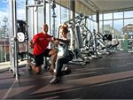 The Gym Oaklands Park Gym Fitness The spacious free-weights area