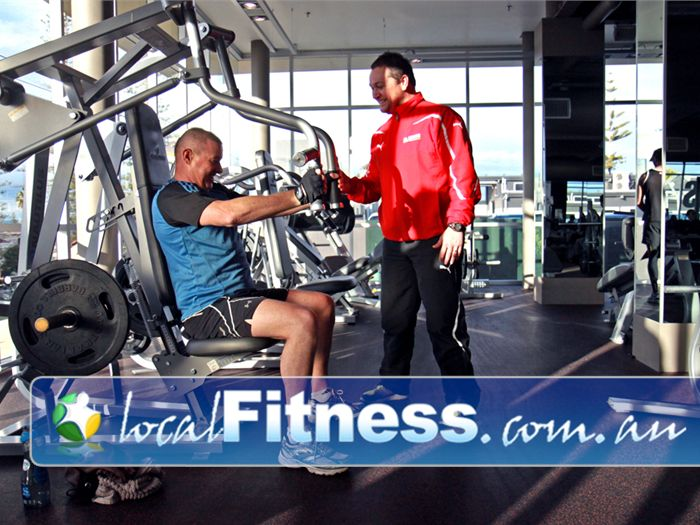 The Gym Near North Brighton Enjoy our easy to use plate-loading machines in our Glenelg gym.