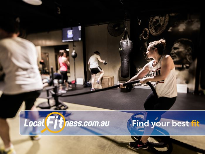 12 Round Fitness Near Winston Hills Battle ropes, prowlers, kettlebells, boxing and more.