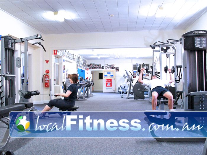 EFM Health & Fitness Clubs Parkville A non-intimidating and comfortable environment.