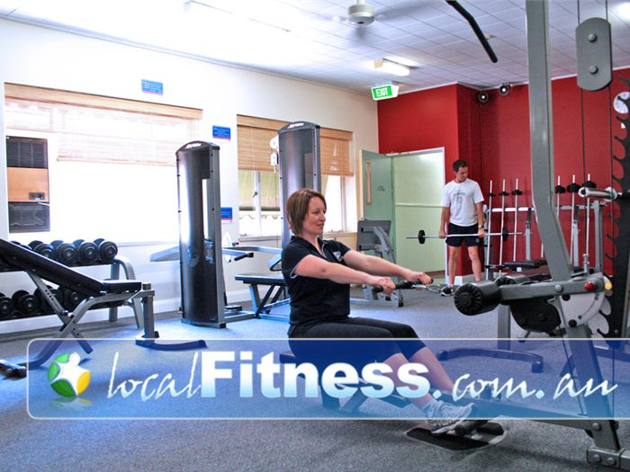 EFM Health & Fitness Clubs Parkville First class equipment from LifeFitness.