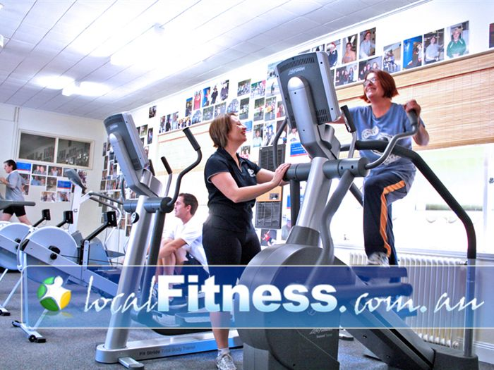 EFM Health & Fitness Clubs Parkville Every session is supervised for a more effective workout.