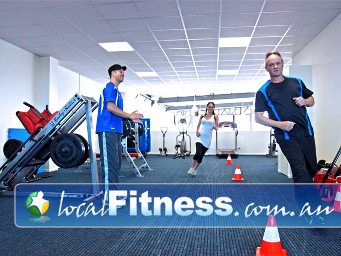 Eighty20 Personal Training Essendon A spacious environment for one-on-one and group personal training.