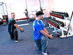 Eighty20 Personal Training Niddrie Gym Fitness Exercise combined with