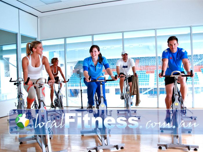 Melbourne Sports & Aquatic Centre Albert Park Gym Fitness Peleton cycling classes with