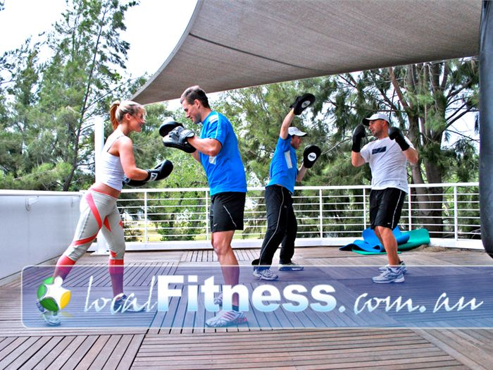 Melbourne Sports & Aquatic Centre Albert Park Gym Fitness Fresh air outdoor boxing