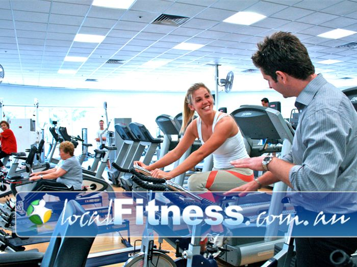 Melbourne Sports & Aquatic Centre Port Melbourne Gym Fitness More than 30 pieces of cardio