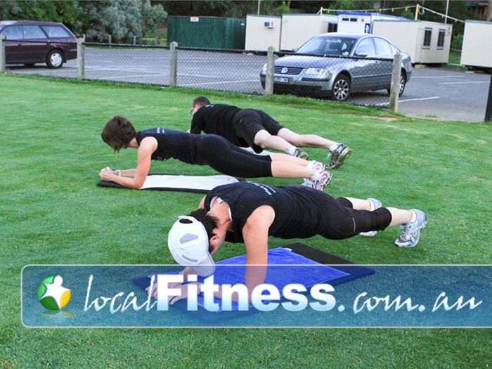 BodySharp Group Personal Training Camberwell Outdoor Fitness Fitness Slimming and toning women