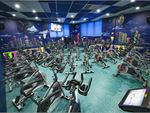 he dedicated Beverly Hills spin cycle studio.