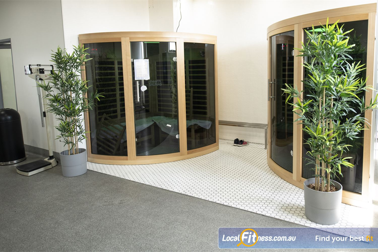 Fernwood Fitness Near Narwee Detox your body with our infra-red sauna in our luxury womens retreat.