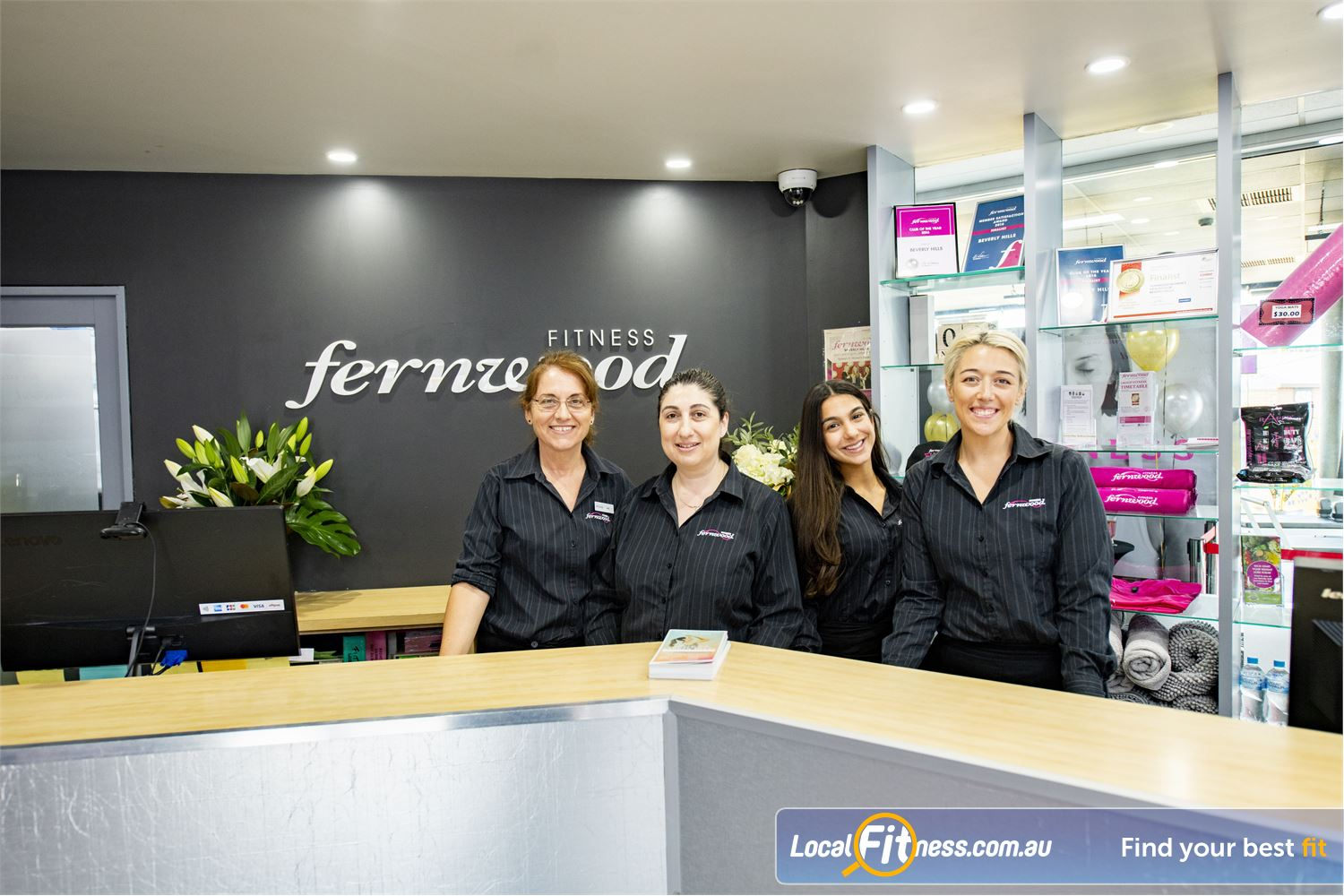 Fernwood Fitness Near Hurstville Our Beverly Hills gym team are ready to help you on your fitness journey.