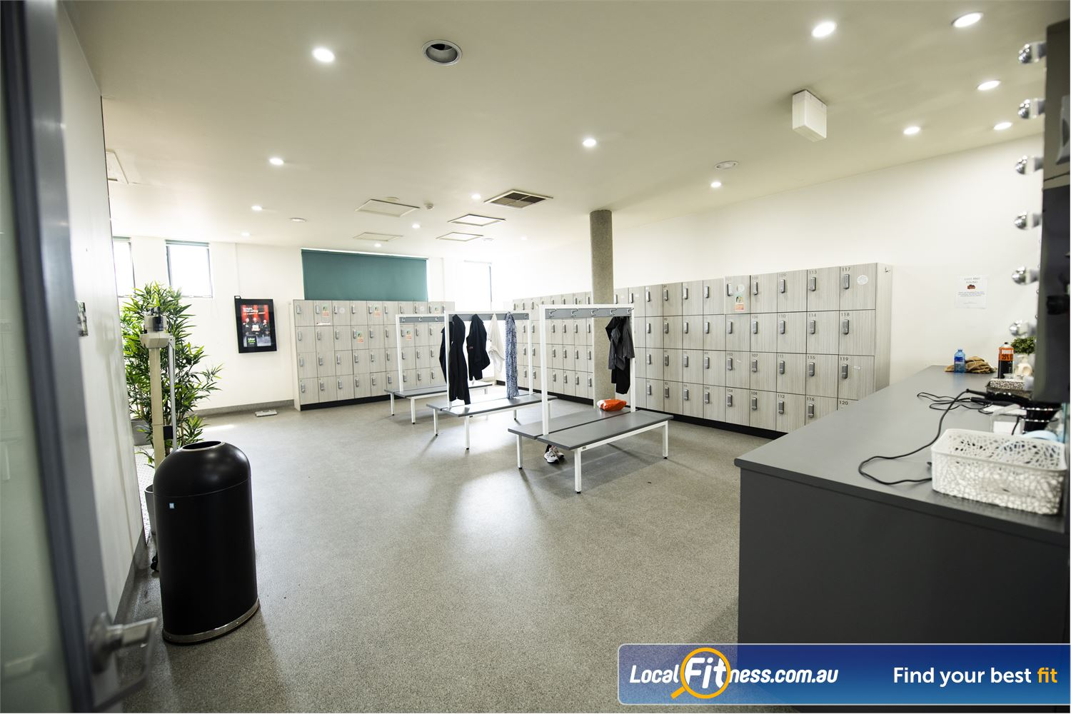 Fernwood Fitness Near Narwee Our exclusive change rooms provide a Relaxing women's sanctuary.