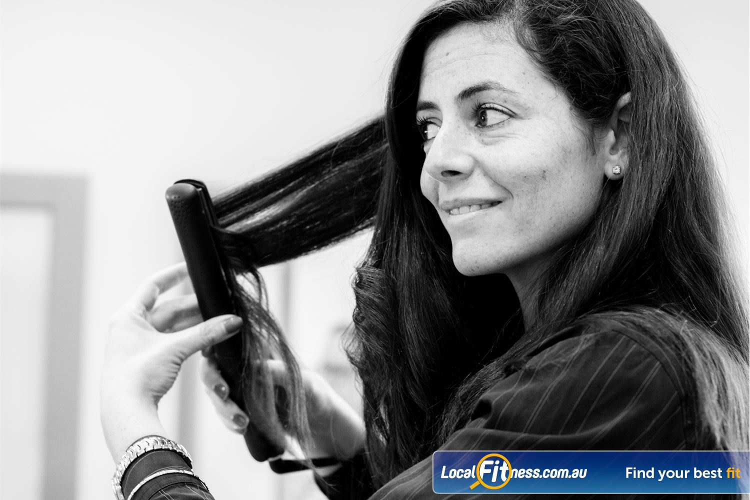 Fernwood Fitness Near Penshurst Pamper yourself with our hairdryer and hair straighteners.