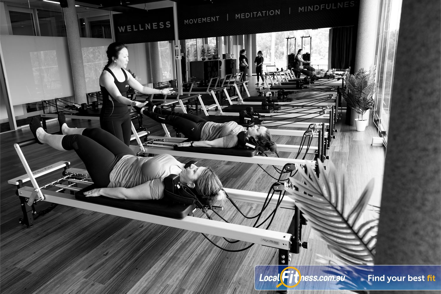 Fernwood Fitness Beverly Hills Reformer Pilates is great for pre and post-natal women, post rehab clients, and more.