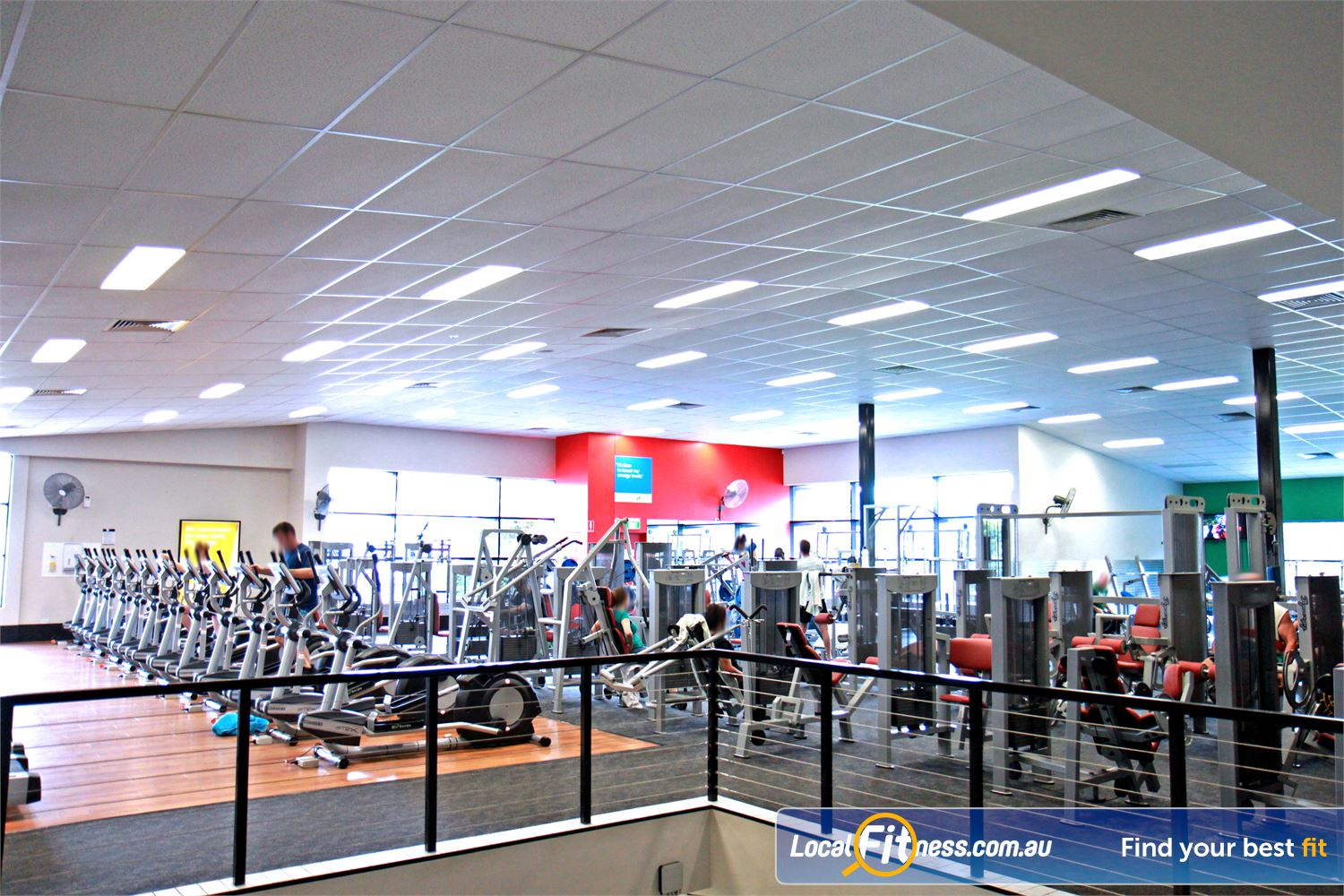 Goodlife Health Clubs Holland Park Our Goodlife Holland Park gym is a 2 storey 2200 sqm premise.