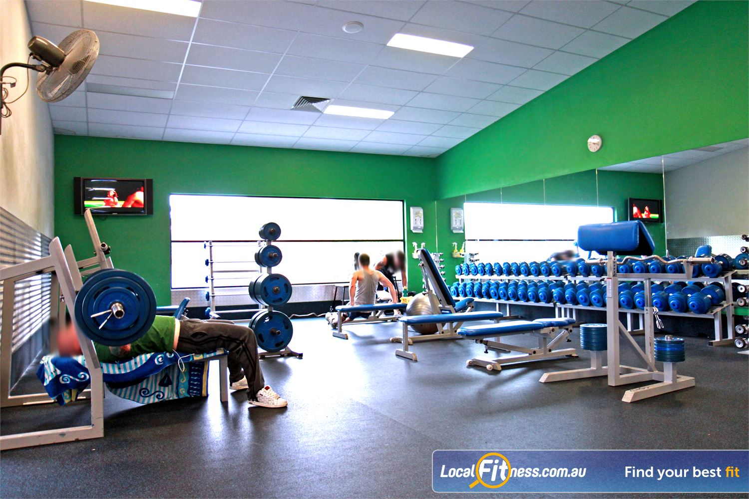 Goodlife Health Clubs Near Wellers Hill Our Holland Park gym includes a comprehensive range of dumbbells and barbells.
