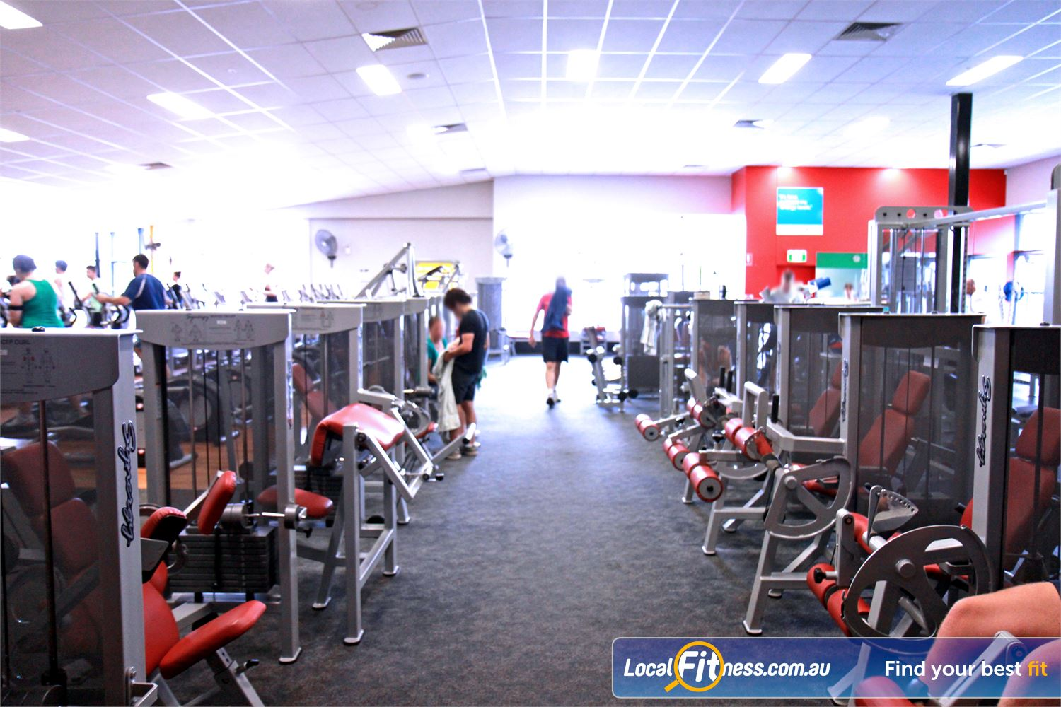 Goodlife Health Clubs Near Mount Gravatt East The Holland Park gym includes an extensive selection of equipment from Calgym Synergy.