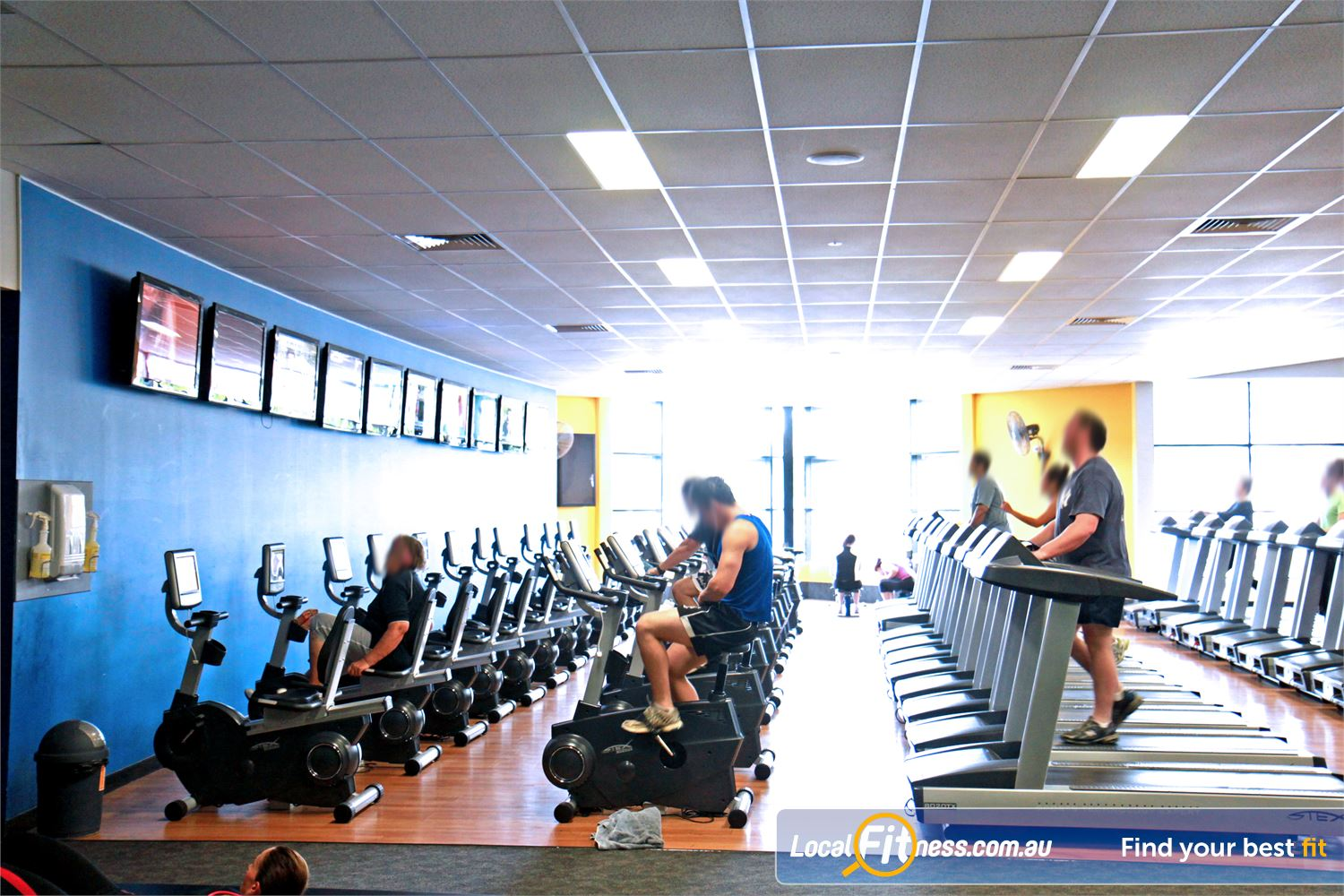 Goodlife Health Clubs Holland Park The latest cycle bikes, cross trainers and treadmills from Stex Fitness.