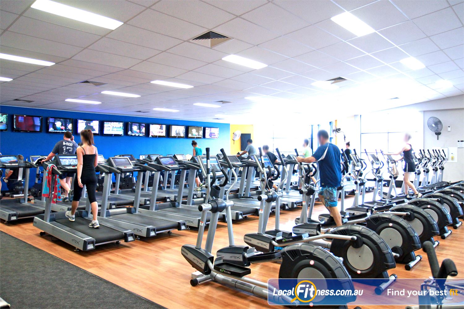 Goodlife Health Clubs Near Wellers Hill Enjoy level 2 views from our Holland Park gym cardio theatre.