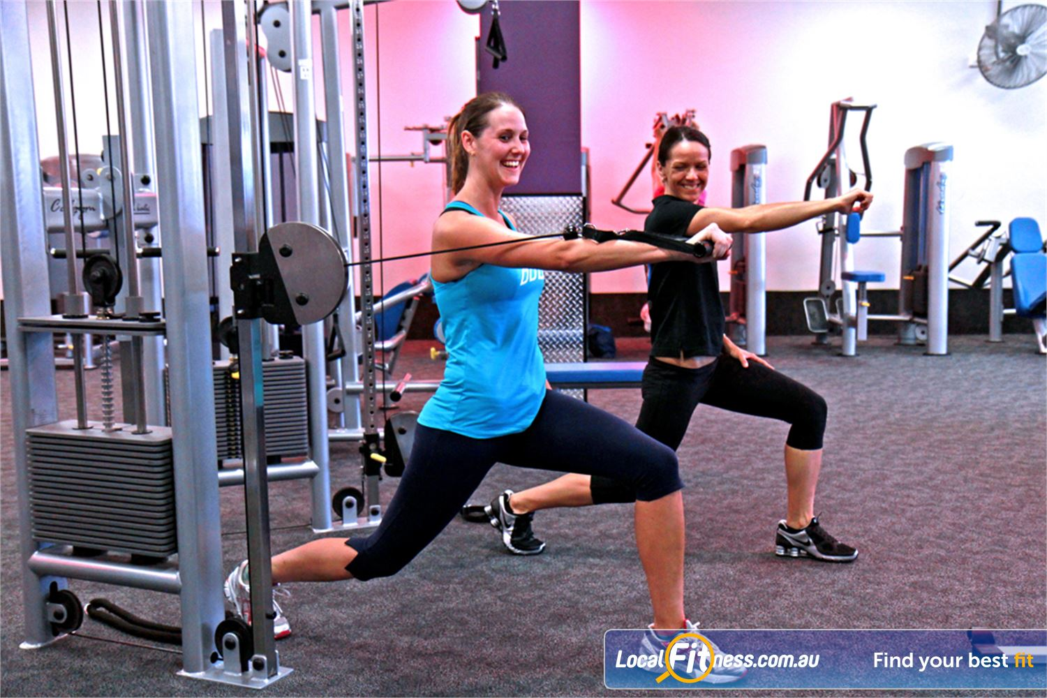 Goodlife Health Clubs Near Mount Gravatt Holland Park personal trainers can create a weight-loss programs.