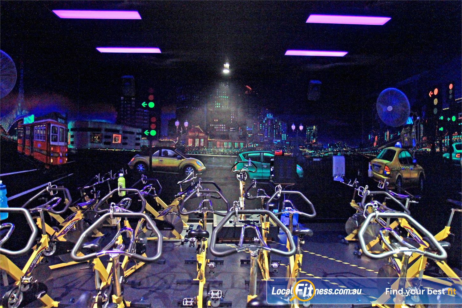 Goodlife Health Clubs Near Mount Gravatt East Dedicated Holland Park spin cycle studio.