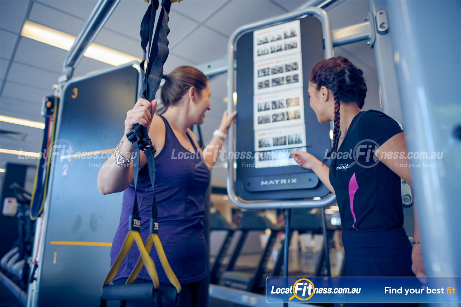 Fernwood Fitness Near Elwood Get the right advice about women's training from our St Kilda personal trainers.
