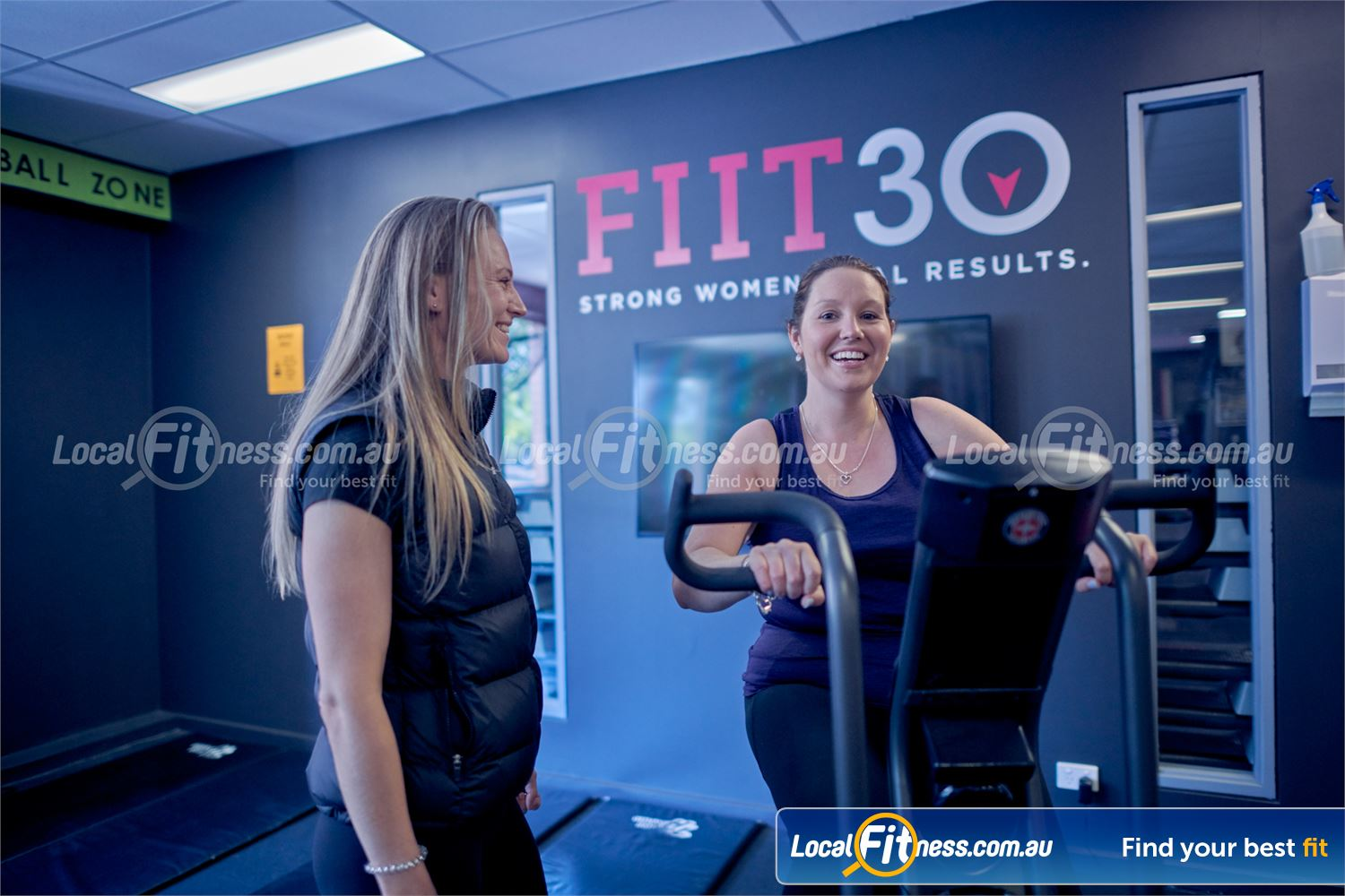 Fernwood Fitness Near Balaclava Join our FIIT30 program, HIIT-based functional training classes.