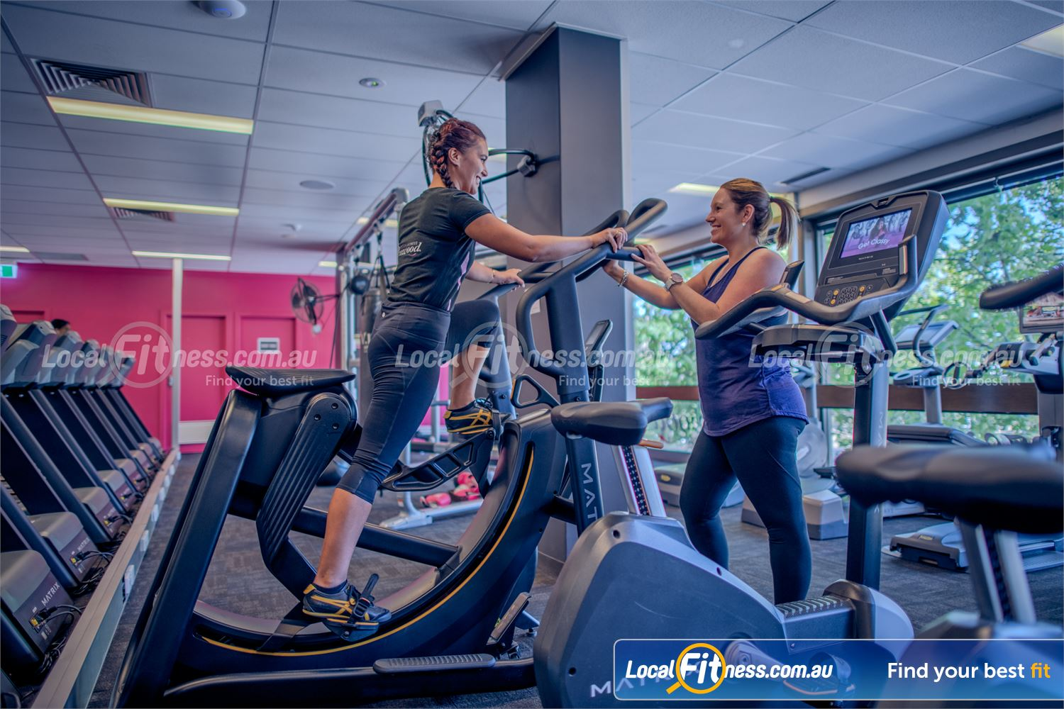 Fernwood Fitness St Kilda Our St Kilda gym team can help you with your cardio goals.