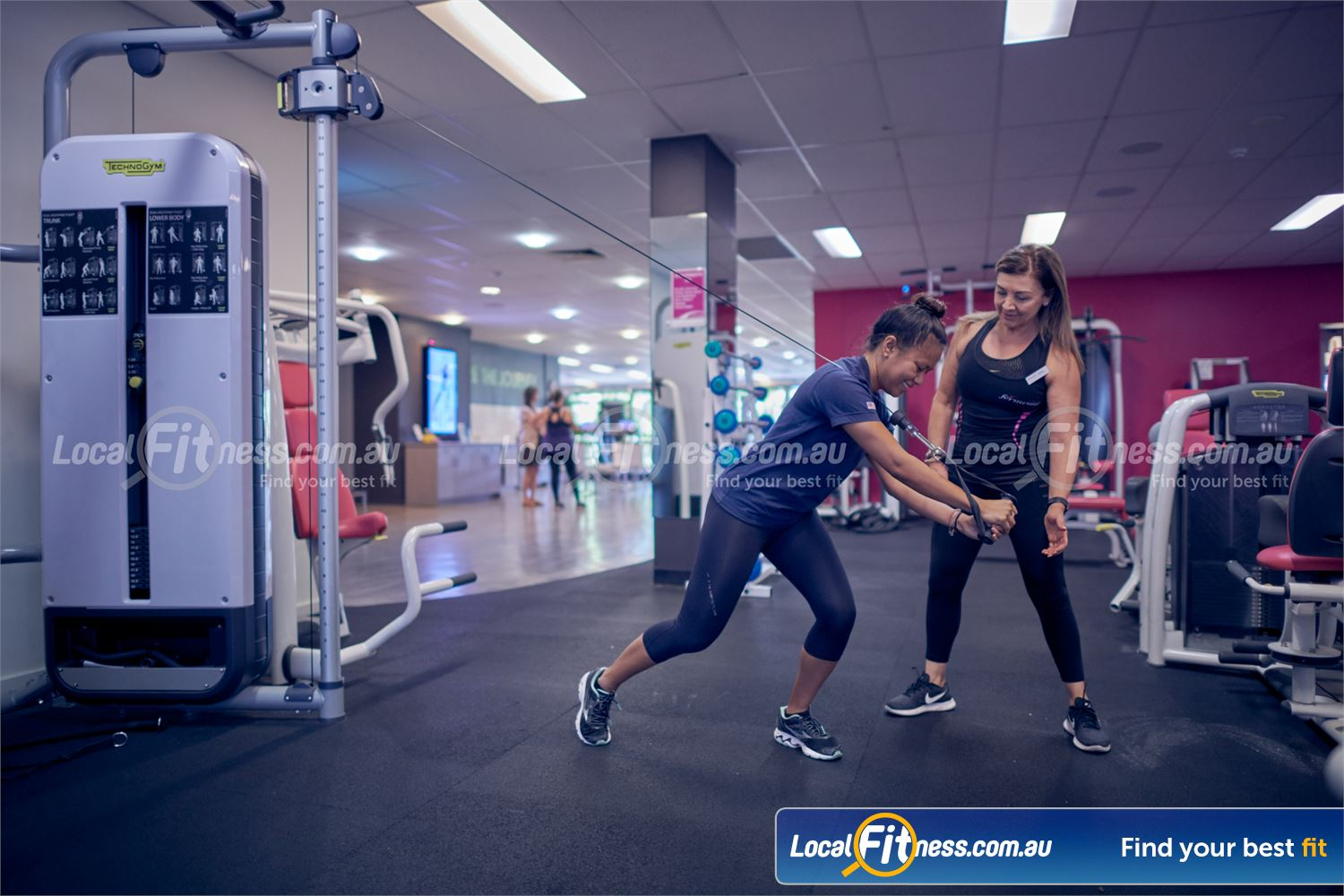Fernwood Fitness Near St Kilda East Our St Kilda personal trainers can help you with your strength goals.