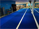 Dedicated functional training zone with 20 sprint/sled track.