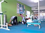 Wyndham Leisure & Events Centre Hoppers Crossing Gym Fitness Abs and stretching area.
