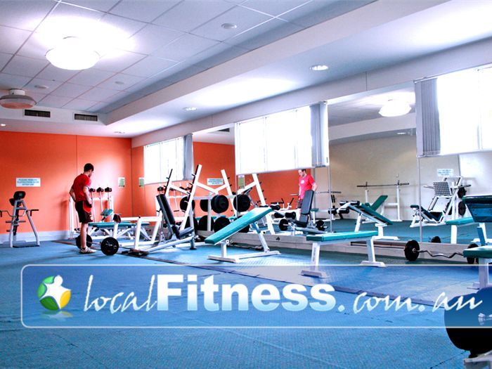 Wyndham Leisure & Events Centre Near Tarneit The spacious and comfortable gym floor in Hoppers Crossing.
