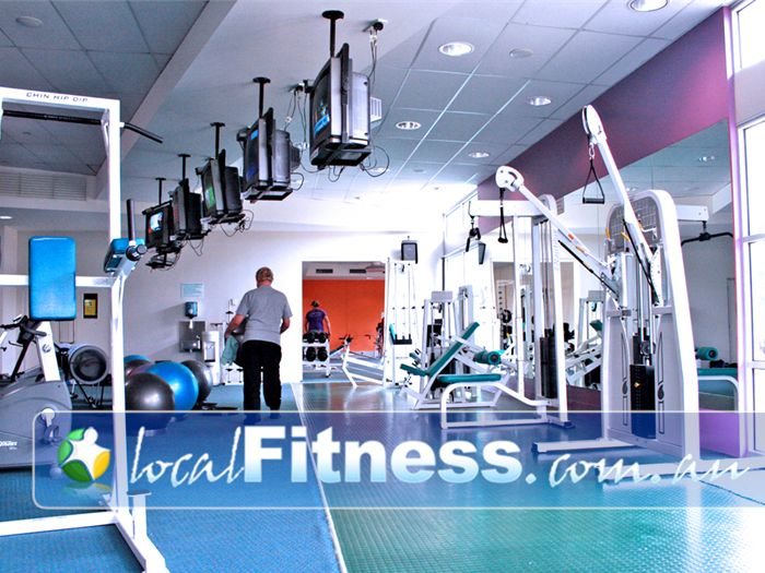 Wyndham Leisure & Events Centre Near Truganina Fully equipped gymnasium from Life Fitness.