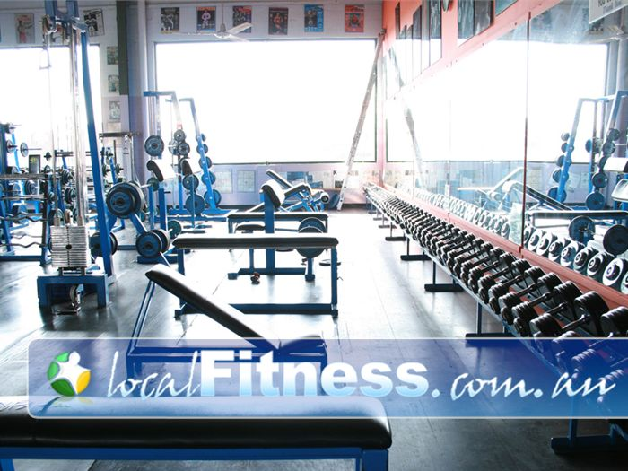 Doherty's Gym Gym Seaford  | Our free-weights area is second to none.