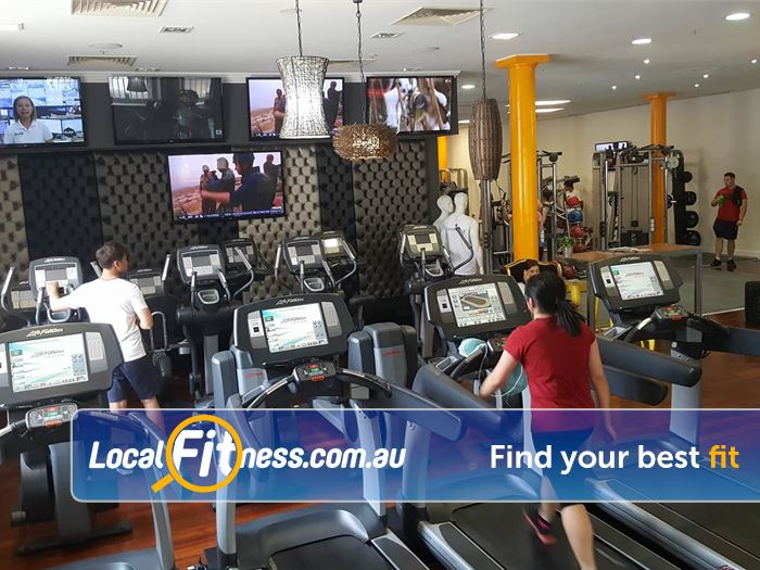 Your World Fitness Adelaide Our Adelaide gym is fully equipped with state of the art cardio.