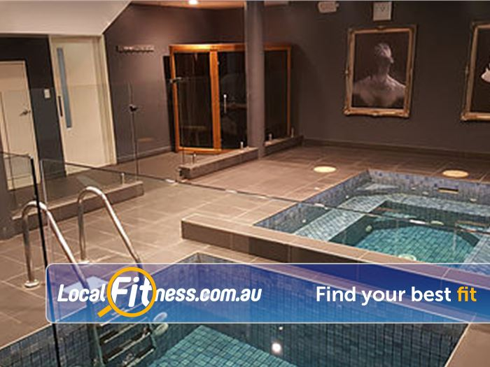 Your World Fitness Gym Payneham  | Relax and recover in our Ice bath, spa,