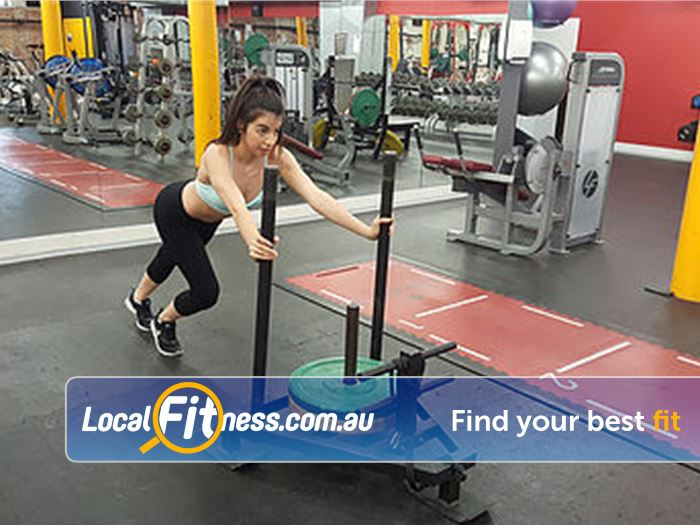 Your World Fitness Near Rundle Mall Get into functional training with our prowler.