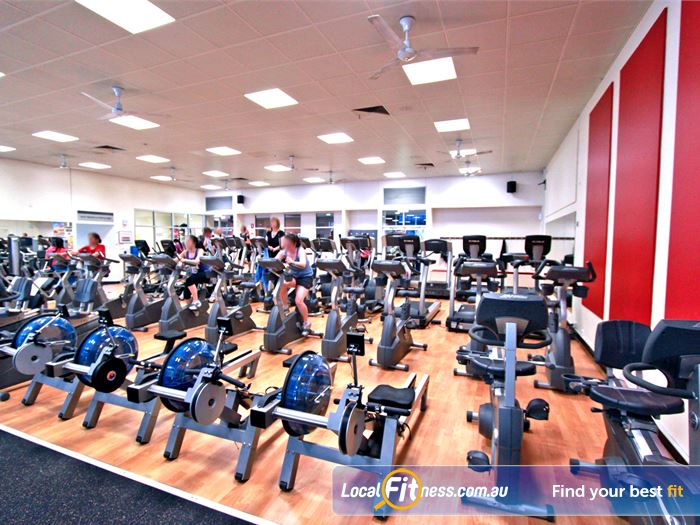 Coburg Leisure Centre Gym Maribyrnong  | The comprehensive cardio area in our Coburg gym.