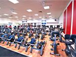 The comprehensive cardio area in our Coburg gym.