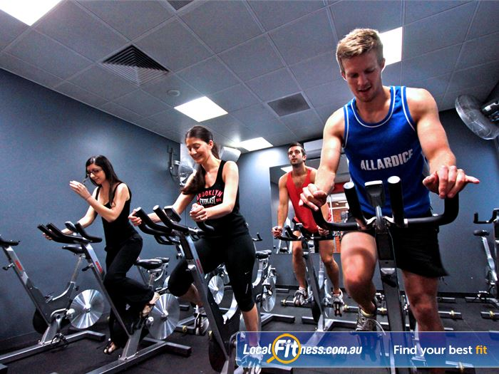 Coburg Leisure Centre Gym Maribyrnong  | Coburg cycle classes run throughout the week.