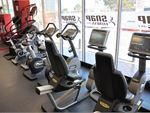 The cardio area at Snap Fitness Redcliffe gym.