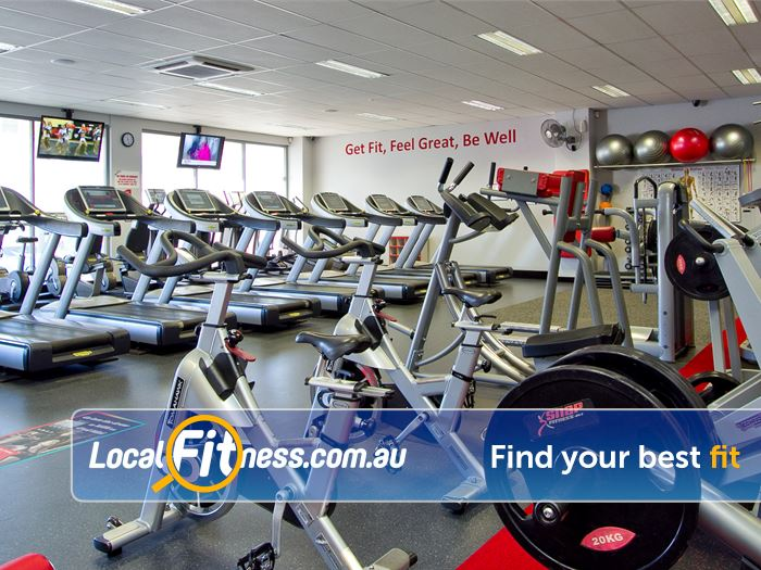 Snap Fitness Redcliffe Treadmills, cross trainers, cycle bikes and more.