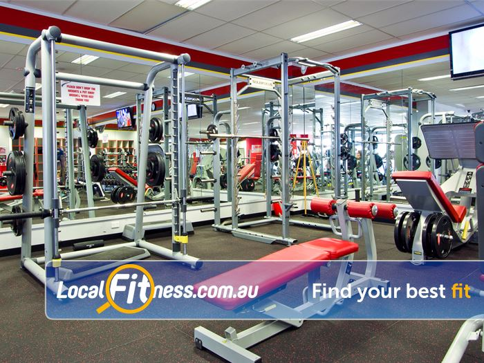 Snap Fitness Redcliffe Our free-weights area caters for all levels of fitness.