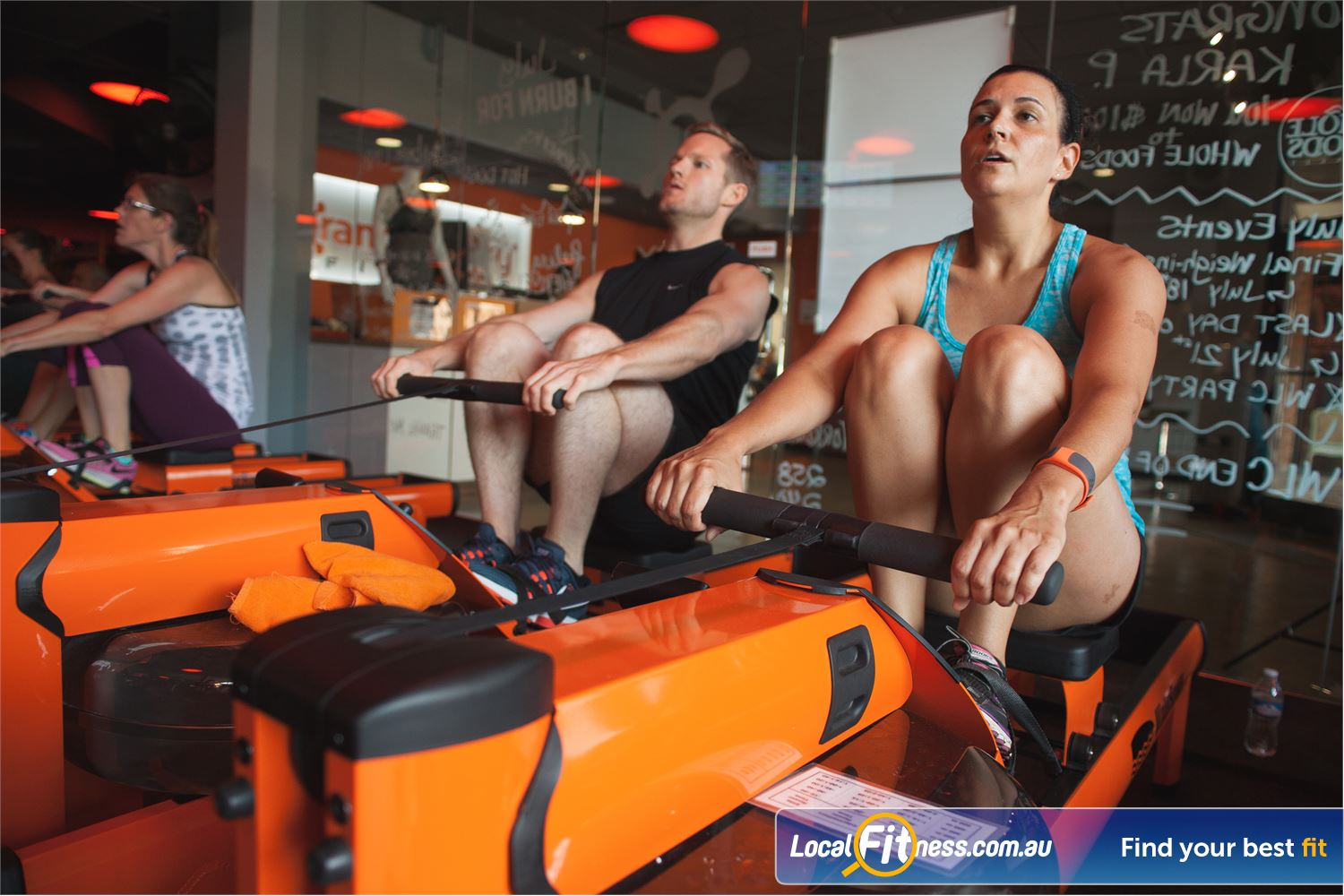 Orangetheory Fitness South Yarra Our South Yarra gym classes use state of the art rowers.