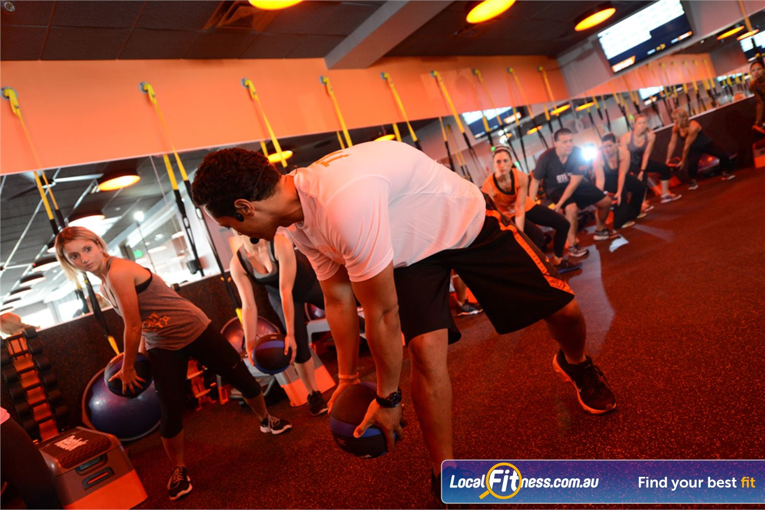 Orangetheory Fitness South Yarra Our Orangetheory South Yarra workouts combine high energy weight exercises.