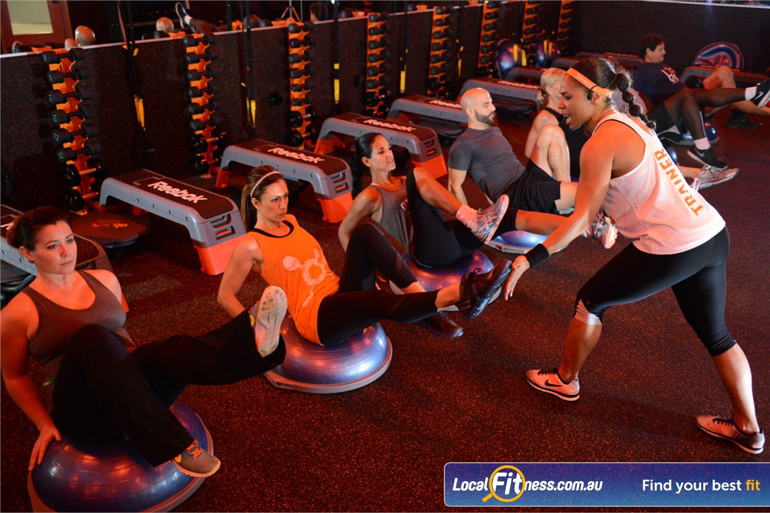 Orangetheory Fitness Near Toorak Our state of the art Hawthorn gym is fully equipped for strength