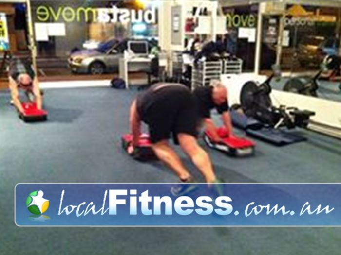 Bustamove Personal Training Near Parkdale If it rains, we do it INDOORS. We always find a way to get you results.