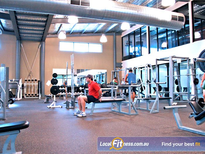 Windy Hill Fitness Centre Gym Yarraville  | Our spacious free-weights area.