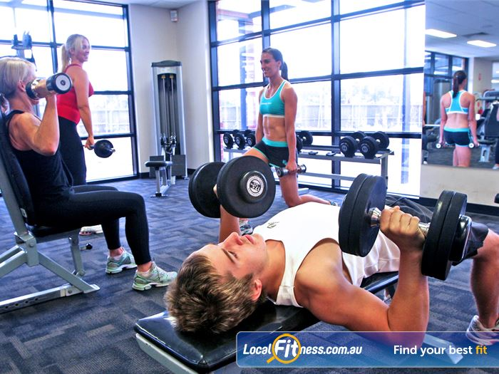 Windy Hill Fitness Centre Gym Fawkner  | Enjoy our selection of free-weights.